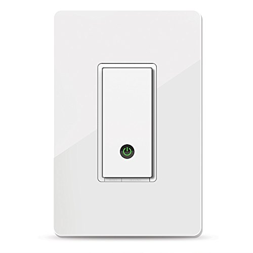 (Wemo Light Switch, WiFi enabled, Works with Alexa and the Google Assistant (F7C030fc))