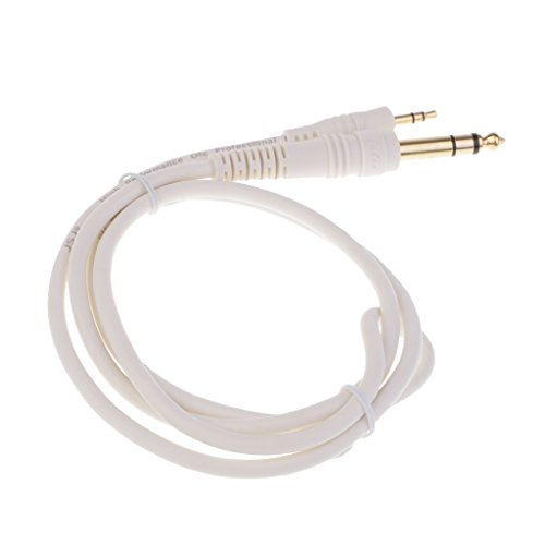 1/4' Headphone Extension Cable - MagiDeal 3.5mm 1/8'' Male to 6.35mm 1/4'' Male Stereo Jack Audio Cable 1meter
