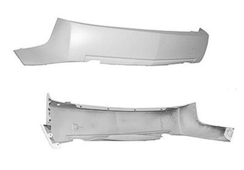CPP GM1100677 Rear Bumper Cover for 2004-2007 Cadillac CTS (Cadillac Cts Rear Bumper)