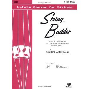 String Builder V3 Violin (Belwin Course for Strings) [Paperback] [1998] Thom - Builder Book Violin String