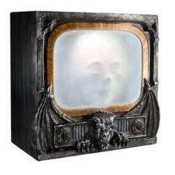 oldzon Animated Gargoyle TV Halloween Prop Decoration with Ebook]()