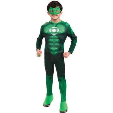 Hal Jordan Dlx Muscle Chld Md - RU884572MD