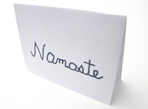 Namaste Note Cards (Light 1 Asheville)