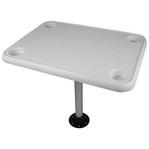 Wise The Company, Inc. 8WD944 Table Rectangular W/4 Cup ()