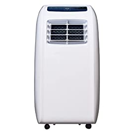 CCH YPLA-08C Portable Air Conditioner 10 Ultra compact for easy handling and positioning. Weighs only 47 lbs 8,000 BTU's of cooling power keeps a room up to 250 sq. Ft. Cool and comfortable and partially Cools an Area up to 350 sq.Ft Washable and reusable air filter saves money on Replacements