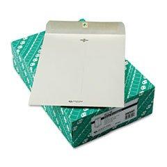 Clasp Envelope, 10 X 13, 28lb, Executive Gray, 100/box By: Quality Park