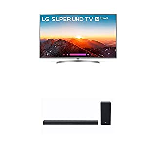 LG Electronics 65SK8000PUA 65-Inch 4K Ultra HD Smart LED TV (2018 Model) Bundle with LG SK6Y 2.1 ch High Res Audio Sound Bar with DTS Virtual:X Sound (2018) (B07KRBCQMV) | Amazon price tracker / tracking, Amazon price history charts, Amazon price watches, Amazon price drop alerts