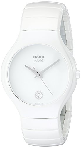 Rado-Mens-R27695722-True-Jubile-White-Ceramic-Bracelet-Watch