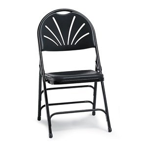 Marvelous Amazon Com Series 1100 Fan Back Polyfold Chair Set Of 4 Ibusinesslaw Wood Chair Design Ideas Ibusinesslaworg