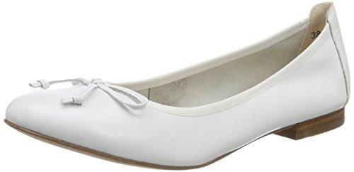Gril Dames 22102 Gesloten Ballerinas Wit (wit Va 102)