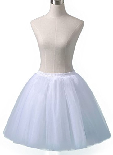[Sheicon Women Lace Ballet Tutu Princess Dress Dance Skirt For Adult Color White Size Onesize] (Vintage Belly Dance Costumes For Sale)
