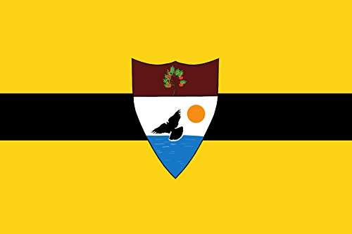 magFlags Large Flag Micro nation of the Free Republic of Liberland | landscape flag | 1.35m² | 14.5sqft | 90x150cm | 3x5ft – 100% Made in Germany – long lasting outdoor flag