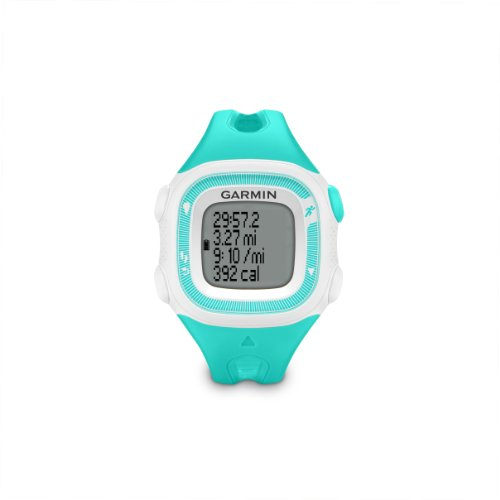 Garmin Forerunner 15 Bundle Small, Teal/White