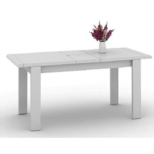 Mesa de Estar Blanca Extensible 220 cm: Amazon.es: Hogar
