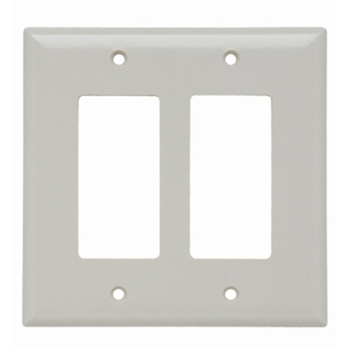 Legrand-Pass & Seymour SPJ262LA Pass and Seymour Spj262-La 2G Al 2Dev Jumbo (Junior Wall Plate)