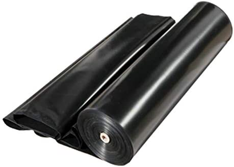 0.88lb/m² プールライナー 人工池用透湿防水シート 池ライナー 自由にカット 不浸透性 HDPE製 屋根上の一時的な雨よけ 1 x 5 m, 2 x 5 m, 3 x 3 m, 4 x 4 m, 5 x 10 m