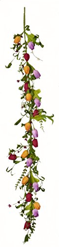 Worth Imports 5 ft Tulip Garland 5 (Garland Tulip)