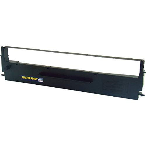 Fita Para Impressora Mx-80 Nylon 13mmx10mts. - Caixa com 2, Masterprint, 1011026, Preto