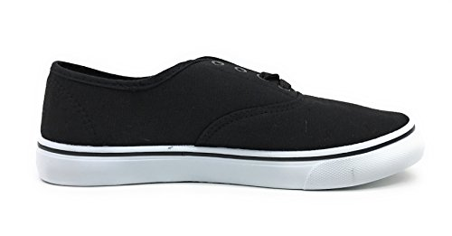 Lace Casual Sneakers Fashion Comfort Shoe Canvas Black Women up EASY21 vp6qEYxAwn