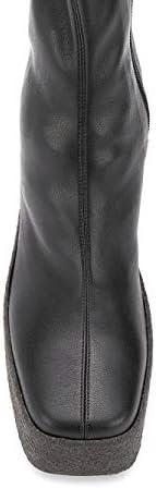 Luxury Fashion | Stella Mccartney Dames 800252W1IL01000 Zwart Kunstleer Laarzen | Seizoen Permanent