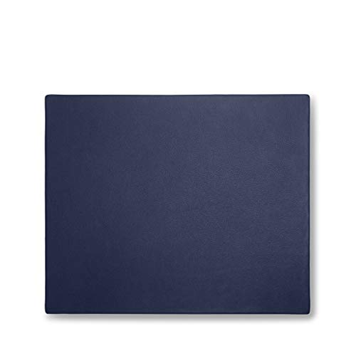 Conference Pad - Full Grain Leather - Navy (Blue)