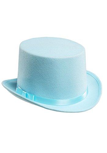 Blue Tuxedo Top Hat Standard