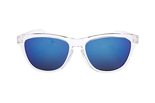 Nación espejo Estilo Sol Policarbonato Hombre Gafas Filtro UV400 En y Pirata Unisex montura de transparente Wayfarer Mujer Cristalinas Aguas efecto rwPrp8