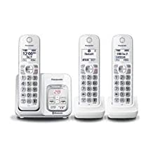 Panasonic KX-TGD593 DECT 6.0 Link2Cell Bluetooth® Cellular Convergence Solution, 3 Handsets
