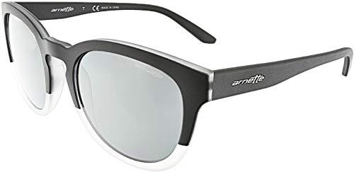 Arnette Men's Mirrored AN4230-24206G-53 Black Oval ()