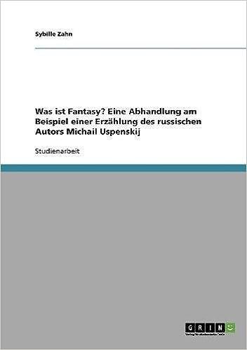 eine abhandlung am beispiel einer erzhlung des russischen autors michail uspenskij german edition german - Erzahlung Beispiel