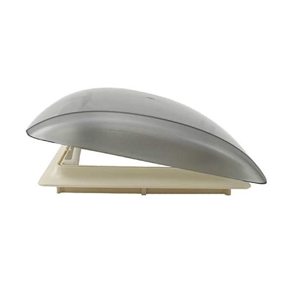 310c1htvKJL MPK Vision Vent S pro getönte Klarglas Dachluke Dachfenster Dachhaube Doppellplissee Insektenschutz 28 x 28 Wohnwagen…