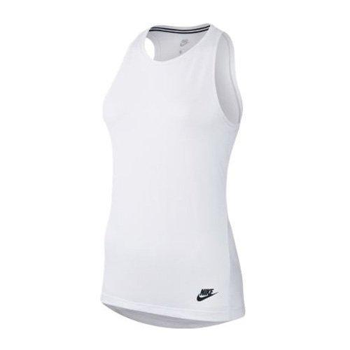 T Sans Blanc Femme Essntl shirt Nsw Nike W Manches Lbr Tank qBXWPxg