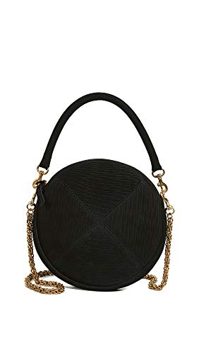 Clare Chain Strap Black Clutch V Women's Circle with rSXqr41