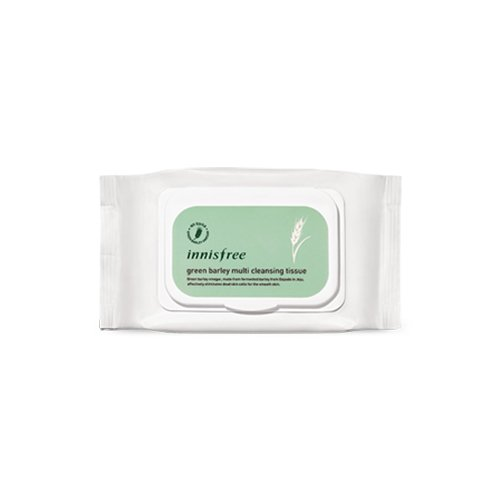 Innisfree Green Barley Cleansing Tissue 50 Sheets