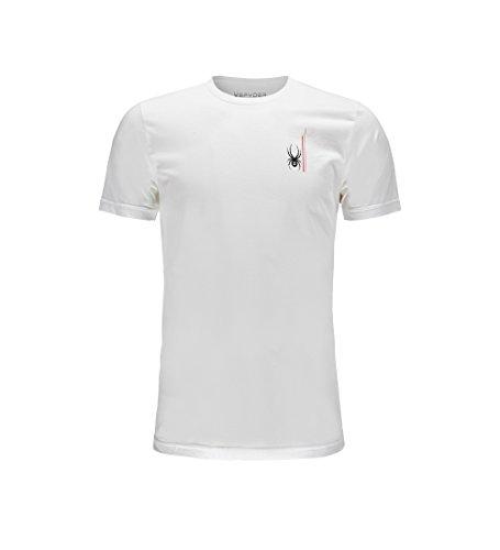 - Spyder Men's Vert Organic Cotton Short Sleeve T-Shirt, Organize Salt/Organic Salt, Medium