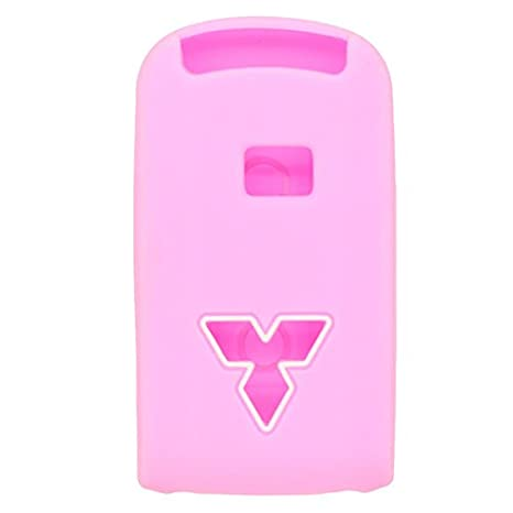 SEGADEN Silicone Cover Protector Case Skin Jacket fit for MITSUBISHI Smart Remote Key Fob CV2520 Yellow