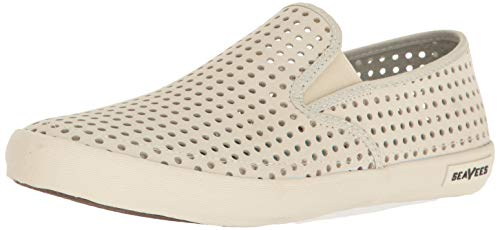 SeaVees Men's Baja Slip On Portal Sneaker, Oyster, 10 M US