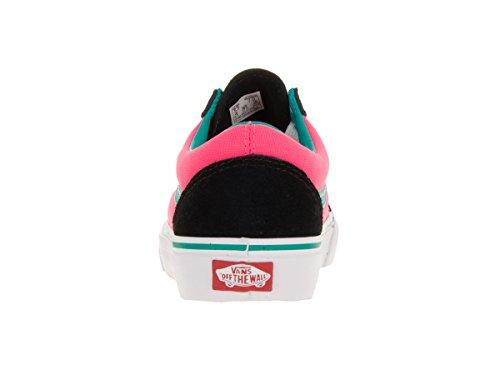 Vans UA Old Skool, Sneakers Basses Homme (brite) black/neon pink