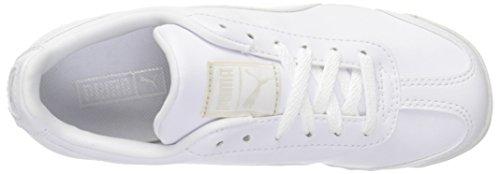 Zapatillas de deporte b¨¢sicas para ni?os PS-K de Roma, Puma White / Grey Viol, 11 M US Little Kid