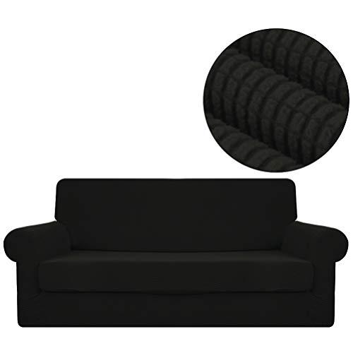 ANJUREN Sofa Loveseat Armchair Chair Slipcover Covers 2 Piec