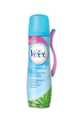 Veet Vaporiser sur cheveux Remover Crème, Formule Sensible, 5,10 once