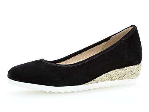 ballerines Classiques Élégant Gabor Femme 22 chaussures jute Schwarz 641 D'été classiquement 1qxtBwIxp