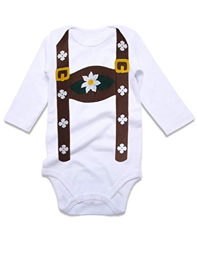 Funnycokid Baby Girl Boy Long Sleeve Funny Costume