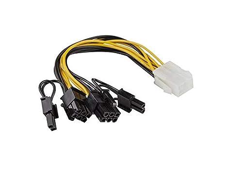 Sonero 36052 Adaptador PCI dee energía de la tarjeta gráfica (6 a ...