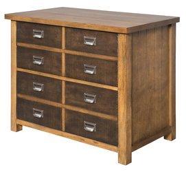 Hickory File Cabinet Finish - 2