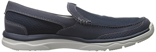Clarks Mens Marus Slip-on Mocassino Blu Scuro