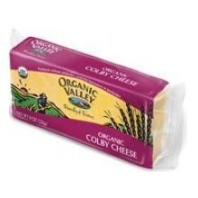Organic Valley Yellow Cheese Colby, 8 Ounce (Pack of 12)