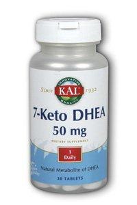 KAL 7-кето DHEA таблетки, 50 мг, 30 фото
