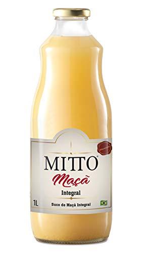 Suco Maçã Integral Mitto Vidro 1L