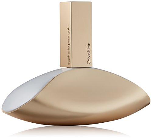 Calvin Klein Euphoria Pure Gold Eau de Parfum Spray, 3.4 Fl. (By Calvin Klein Euphoria For Women)